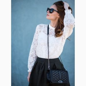 Rebecca Minkoff Love Navy Crossbody Bag